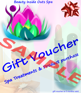 gift voucher beauty inside outs spa bonaire
